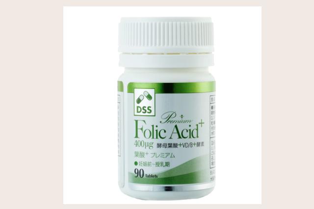葉酸サプリメント(Premium Folic Acid+)
